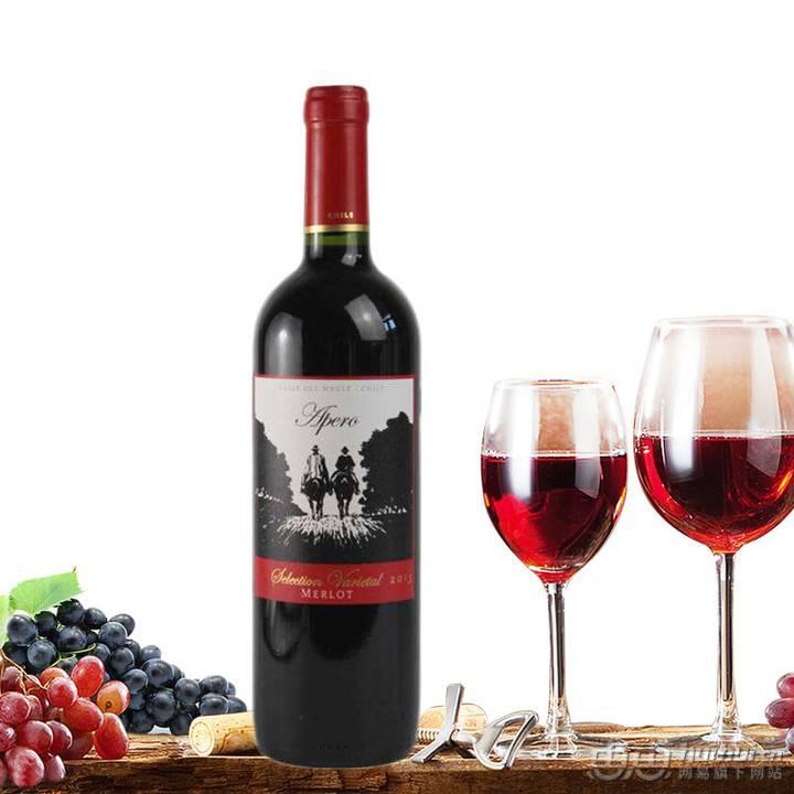 【智利進口】牧馬人紅標干紅葡萄酒