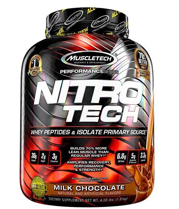 【亚马逊中国】肌肉科技 正氮增肌蛋白粉 1.81kg