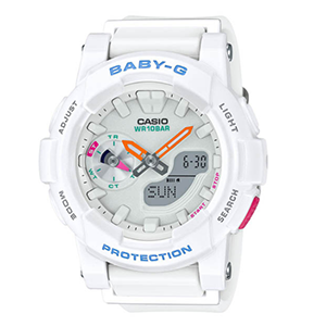 <font color='red'>CASIO</font> <font color='red'>卡西欧</font> BABY-G 跑步系列 BGA-185-7AJF 女款腕表