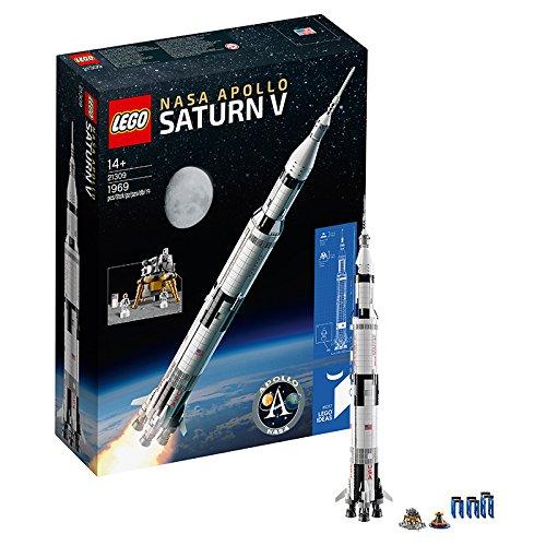 【亚马逊中国】LEGO 乐高 21309 NASA 阿波罗计划 土星5号运载火箭