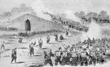 英军随军画师绘 1860年中国战争