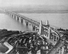 南京长江大桥旧影
